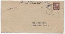 1933 Frances Cleveland Preston Widow free frank 12 cent 4th bureau [1232]