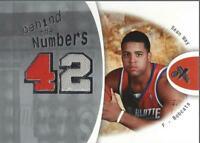 2006-07 E-X Behind the Numbers #BNMA Sean May Jersey/199 - NM-MT