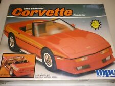 A vintage, MPC ERTL un-opened / un made plastic kit of a 1988 Chevrolet corvette