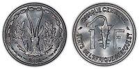 WEST AFRICAN STATES 1 FRANC 1961 (CHOICE/GEM UNC) *PREMIUM QUALITY*