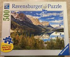 "Ravensburger Puzzle Large Format "" Beautiful Vista ""500 Pieces- Pre-Owned"