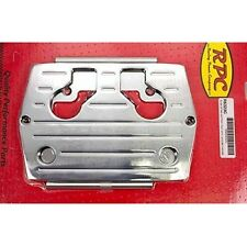RACING POWER CO R6326 -Polished Optima Blue/Red/Yellow Top Battery Tray