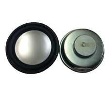 "2X 50mm 2"" Dia. Magnetic Type Aluminum Shell Round Speaker 8 Ohm 5W BL"