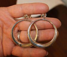ROBERT LEE MORRIS RLM Studio Sterling Silver Large Circle Earrings