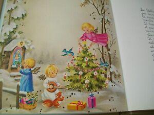 Fiaba vintage Le favole di Natale editrice Piccoli ill. di Mariapia