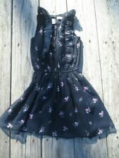 Abercrombie Kids ~ Girls Navy Floral Dress ~ Size 3-4