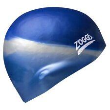 Zoggs Silicone Multi Coloured Swim Cap - Berry/Silver from Ezi Sports
