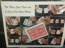 Vintage Fred Kaps Dutch Looper Monte Greatest Three Card Monte Magic Trick