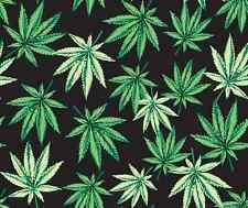 Marijuana Print Home Decor Cotton Fabric 57