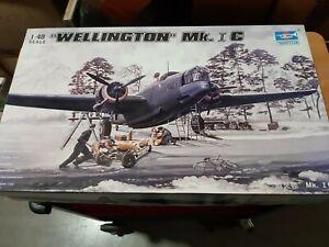 Trumpeter 02808 - 1:48 Wellington MK.1C - Neu und OVP