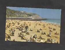 c1970s View: People/ Deckchairs on East Beach, Folkestone