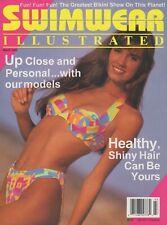 TIFFANY JONES SWIMWEAR ILLUSTRATED Magazine March 1993 USA Swimsuit