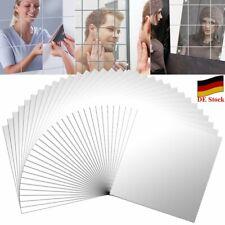 DE 9/ 16/ 32x Spiegelfliesen Spiegelkacheln Wandspiegel Klebespiegel Dekospiegel