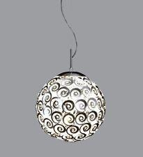 Trio Pendellampe Pendelleuchte Acryl 308300206 40cm 2x60W E27 LED mög Neu