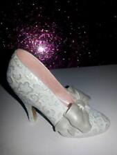 Collectible Decorative Ladies Shoe Steps In Time Ribbons & Romance Very Elegant