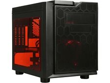 APEVIA X-QPACK3-RD Red SECC Micro ATX Cube Case Computer Case