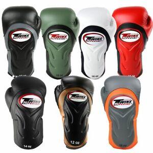 Twins Deluxe Boxing Gloves BGVL6 Muay Thai Sparring Gloves 12oz 14oz 16oz Gloves