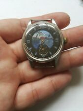 VINTAGE ARTISTIC RUSSIAN HANDWIND WATCH  FOR SPARE FOR REPAIR