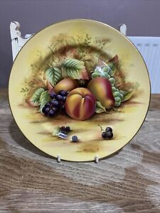 Aynsley Orchard Gold Plate 21 cm