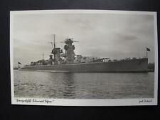 AK Schiff Marine Panzerschiff Admiral Scheer