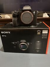 Sony a7 III 24.2MP Mirrorless Digital Camera - Black (ILCE7M3/B)