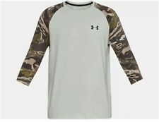 NEW! Under Armour UA Ridge Reaper ¾ Sleeve Forest Camo Hunting Shirt Large XL