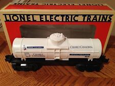 Lionel Train O Scale 6-16147 Clearly Canadian Beverage Tank Car RARE New in Box