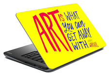 """Art Quato Laptop Skin Notebook Protector Art Cover Decal Fit's 14.1"""" x 15.6"""""""