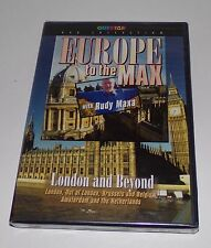 Europe to the Max - London and Beyond With Rudy Maxa (DVD, 2005) - NEW