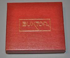 """Buxton Tan Wallet Coin Purse (A3L) w/Box 4.75 x 4"""""""