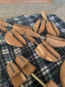 cedar shoe trees Six Pairs