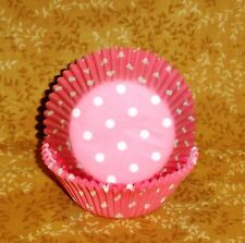 Bridal Shower Cupcake Papers,Wilton, 75ct.Bake Cup,Cake Decorating, Pinks,Dots