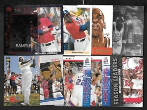 MICHAEL JORDAN CHICAGO BULLS NBA BASKETBALL MLB BASEBALL CARD SEE LIST