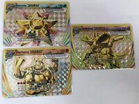 Starmie Nidoking Machamp BREAK ULTRA RARE 32,46, 60/108 Pokemon Xy Evolutions NM