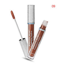 Long Lasting Moisturizer Liquid Cosmetic Lipstick Waterproof Shimmer Gloss 9#