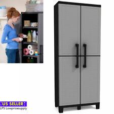 Space Winner Tall Metro Storage Utility Cabinet Indoor/Outdoor Garage. New