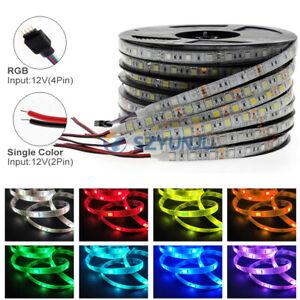 LED strip 5050 60LEDs Flexible Home Decoration Lighting LED Tape  RGB RGBW  CCT