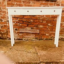 H95 W125 D20 BESPOKE CONSOLE HALL TABLE 4 Drawer NO Shelf PAINTED