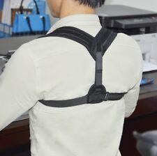 Haltungskorrektur Geradehalter schwarz Schulter Rücken Haltungsbandage