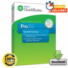 INTUIT QUICKBOOKS DESKTOP PRO 2016 ✅ FOR WINDOWS ✅ Retail ✅ Lifetime License