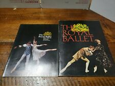 The Royal Ballet.1974 Souvenir Programs Metropolitan Opera House Royal Opera Hou