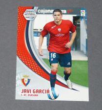 JAVI GARCIA C. AT. OSASUNA ESPAGNE PANINI CARD MGK FOOTBALL LIGA 2007-2008