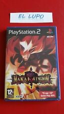 MAKAI KINGDOM CHRONICLES OF THE SACRED TOME PS2 NEUF SOUS BLISTER VF
