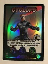 2000 The X-Men Movie Trading Card Game Cyclops Foil #5