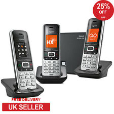 Gigaset S850A GO Trio DECT landline and VoIP Cordless Phone