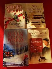 lot 4 CHRISTMAS Books, WIGGS, WOODS, VAN LIERE, WOODSMALL, See photo for titles