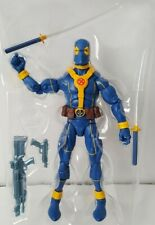 Hasbro Marvel Legends DEADPOOL Blue Gold Figure Loose X-Men
