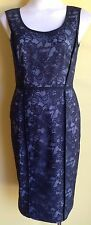 Matthew Eager Black Lace Dress Size 8 NWT RRP $480.00
