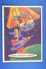 1957 Topps Target: Moon #27 Fixing Meteor Damage - VG/Ex Condition