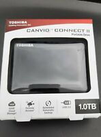 Toshiba Canvio Connect II 1gb portable external hard drive - HDTC810XK3A1